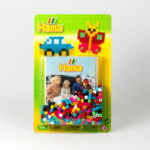 Iron-on beads toys from the Kiddybox children's menu box
