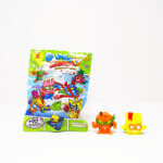 Super Zings collectible figure from the children's menu box Kiddybox