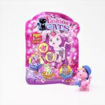 Fashion Cats collectible figures from the children's menu box Kiddybox