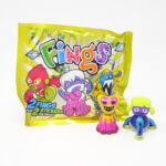 Fings collectible figures from the children's menu box Kiddybox